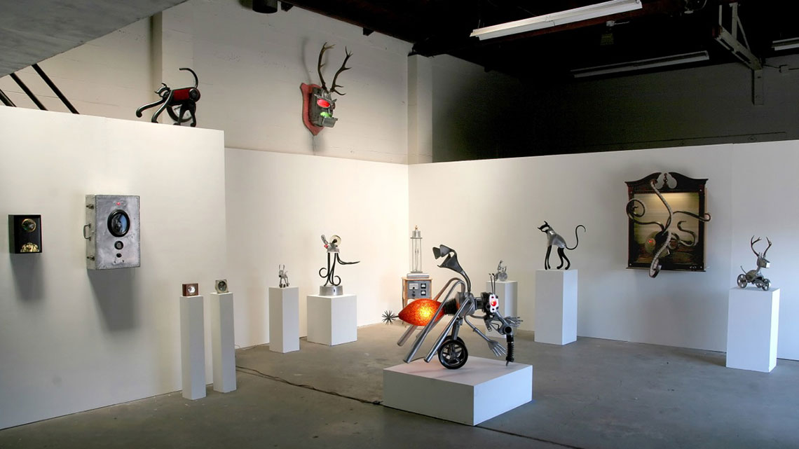 Image of art exhibition at the San Francisco Dump (Recology)