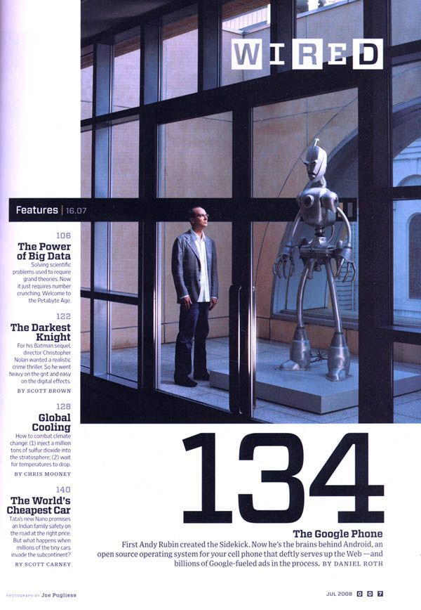 Wired Magazine, June 2008 - Nemo Gould