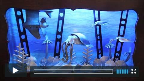 Cuttlefish for Monterey Bay Aquarium
