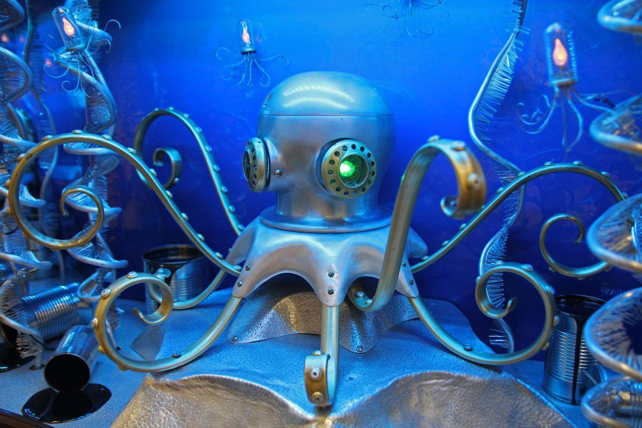 Octopus for Monterey Bay Aquarium  Nemo Gould